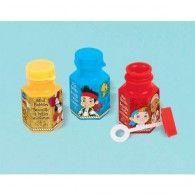 Jake & The Neverlands Pirates Mini Bubbles, Pkt12, $14.95 A398488