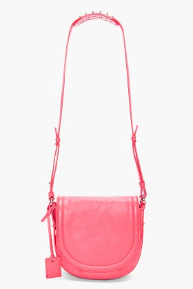 MCQ ALEXANDER MCQUEEN Cherry Red Mini Cross Body Bag