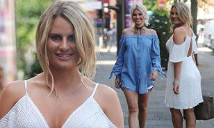 TOWIE's Danielle Armstrong steps out in with Chloe Sims in Essex | Daily Mail Online