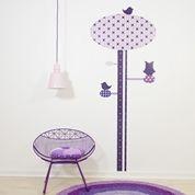 Sebra Stol Metal You Lounge Lila | Interiør Barnmöbler | Jollyroom
