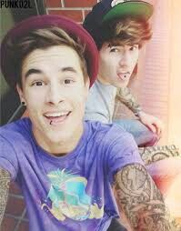 Kian lawley and Jc Caylen... the don't really have that many tattoos