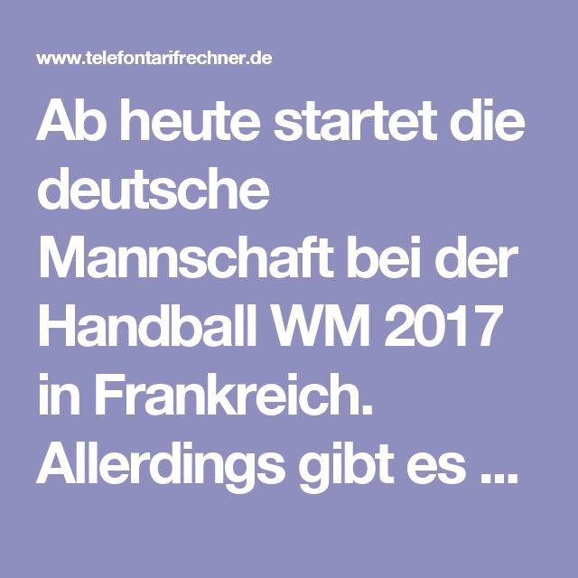 Ab heute startet die deutsche Mannschaft bei der Handball WM 2017 in Frankreich. Allerdings gibt es keine Fernsehrechte für die deutschen Sender. So bleibt man via TV eigentlich im Dunkeln. Allerdings kann man die Handball WM 2017 nun via Internet Stream verfolgen. Wir zeigen Ihnen die passenden Tipps und Kniffe, damit das Streamen auch auf dem Fernseher erfolgen kann.