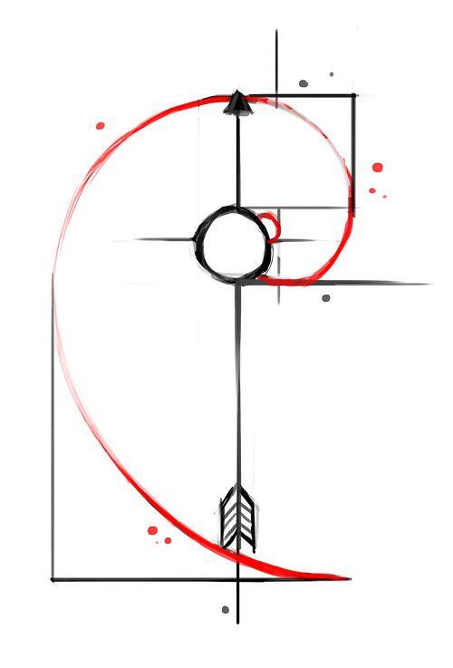 Fibonacci Spiral.                                                                                                                                                     More