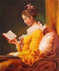 muchacha leyendo1776 de fragonard -