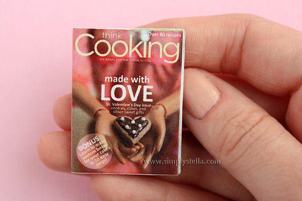 Simplystella's Sketchbook: Free Magazine Printable: Think Cooking #3