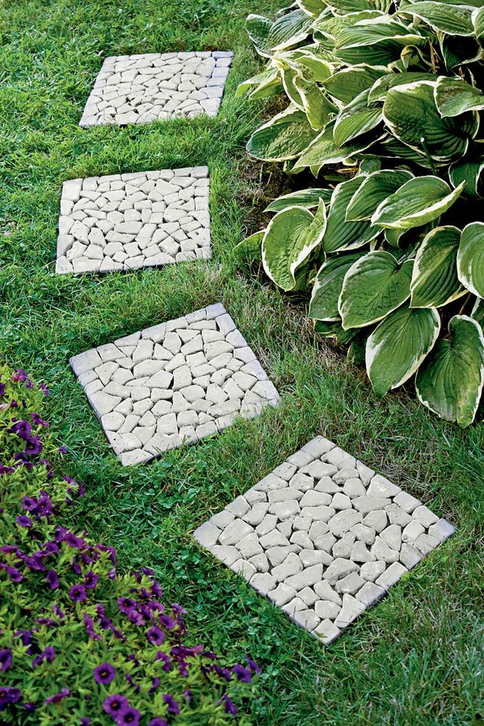 111 Gartenwege Gestalten Beispiele 7 Tolle Materialien Fur Den Boden Im Garten Gartenweg Gestalten Garten Design Gartenfliesen