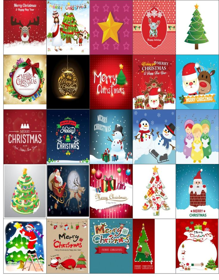 Free Printable-Christmas Stickers for your Happy Planner