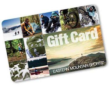 Win a $200 Eastern Mountain Sports Card!