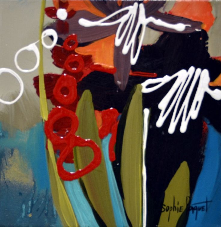 View and buy this Acrylic on Canvas Painting by Sophie Paquet