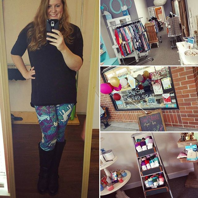 The Sip and Stroll Party is on! Join me at the Sugar Shack Day Spa in Sumner. I'm so excited to spoil my awesome hostess!❤ #Lularoe #LularoeKristie #Consultant #lularoeaddict #lularoeleggings #pnw #Sumner #lularoeconsultant #Shop #Leggings #SimplyComfortable #wiwt #Weekend #Saturday #FashionDiaries #Fashionista #Fashionblogger #ootd #Outfit #Unicorn #Fall #Shopping #Seattle #Happiness #GirlBoss