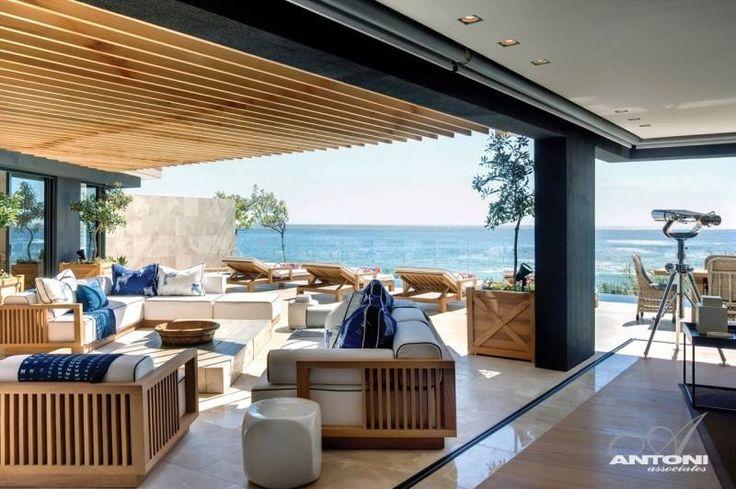 Open floor plan beach house