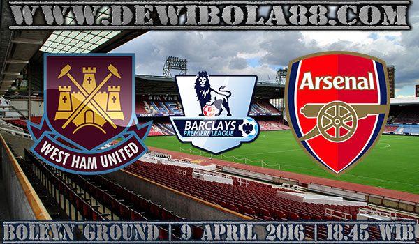 Prediksi West Ham United vs Arsenal 9 April 2016  #dewibet #dewibola88 #agenjudionline #bettingonline #sportbook #casino #bolatangkas #togel #sabungayam #kartucapsa #poker #dominoqq #ceme #slotgames #agenjuditerpercaya #agenterpercaya
