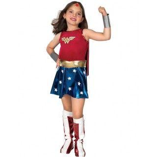 Luxe Wonder Woman Superheld Meisje Kostuum