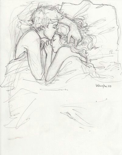 One of my favourite sketches <3 this is just too sweet #love ...