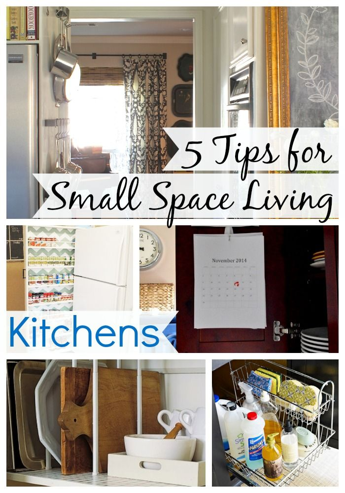 5 Tips For Small Space Living: Kitchens - CHATFIELD COURT