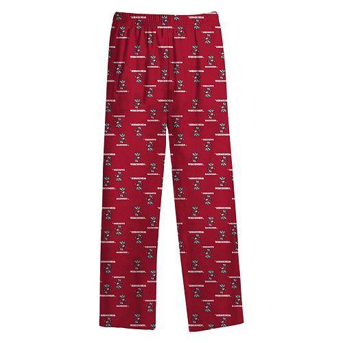 Boys 8-20 Wisconsin Badgers Lounge Pants