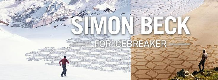 Artist Simon Beck Snow art and Sand Art designs made with a compass and his feet. Designed for Icebreaker Merino Clothing. Find out more: http://www.outsidesports.co.nz/buyers-guides/outdoor-clothing/about-icebreaker/simon-beck