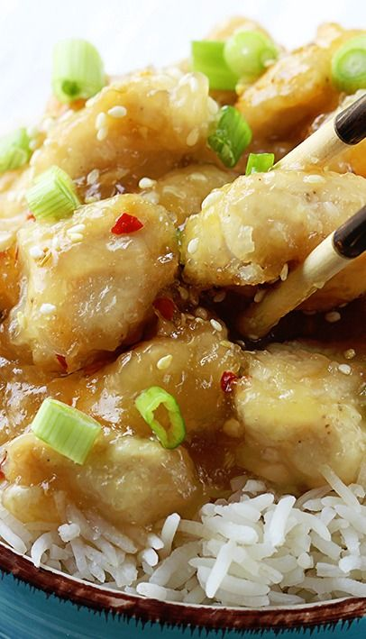 Chinese Honey Garlic Chicken | Recipe