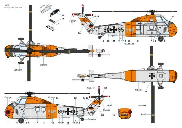 Bildergebnis für Sikorsky H-34G marine