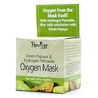 Reviva - Hydrogen Peroxide & Green Papaya Mask, 1.5 oz cream ( Multi-Pack) by Reviva. $32.89. DOUBLE VALUE PACK! You are buying TWO of Reviva - Hydrogen Peroxide & Green Papaya Mask, 1.5 oz cream. The first facial mask to give skin instant oxygen- with added green papaya for mild exfoliation.. Quantity: MULTI VALUE PACK! You are buying Description: HYDRO PEROX&GRN PAPYA MSK Unit Size: 1.5 OZ Brand: REVIVA LABS. DOUBLE VALUE PACK of Reviva - Hydrogen Peroxide & Green Papaya ...