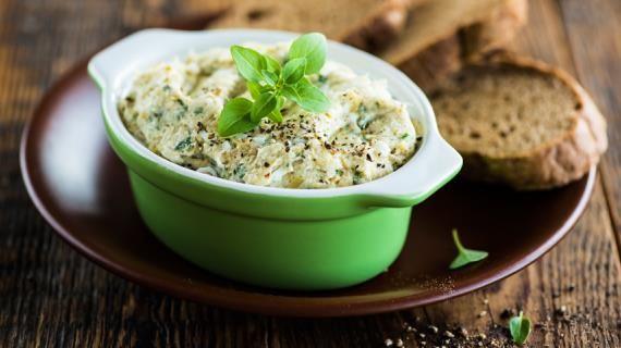Паштет из трески с оливками. Пошаговый рецепт с фото на Gastronom.ru