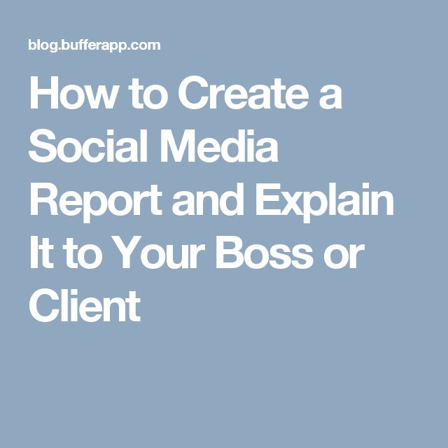 Best  Social Media Report Ideas On   On The Media