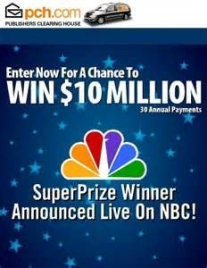 Image result for pch 10 million sweepstakes | Activations