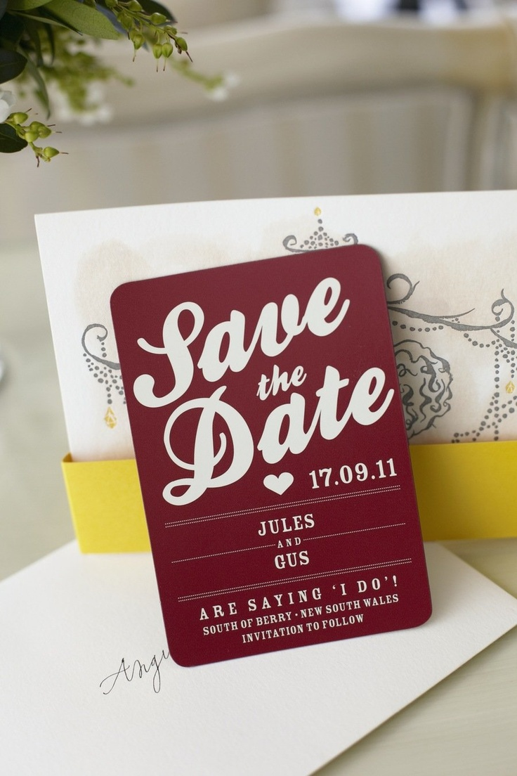 The 57 best Wedding Stationary Ideas images on Pinterest ...