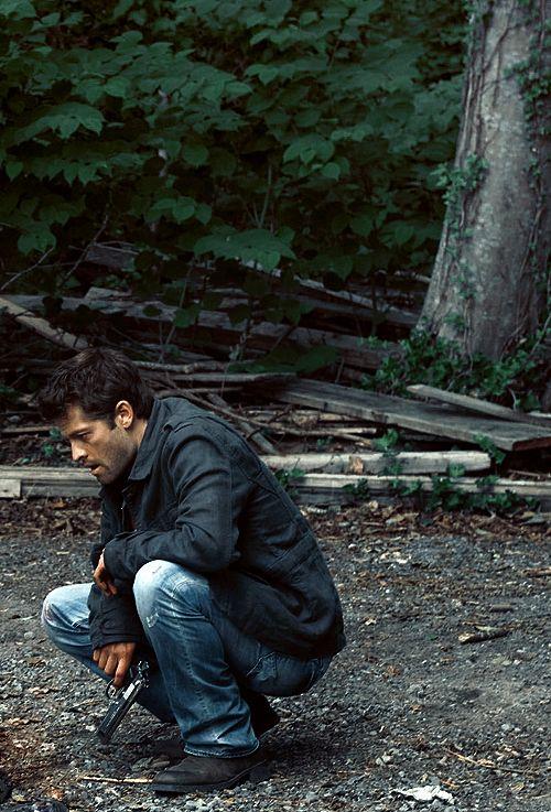 Misha Collins in Stonehenge Apocalypse