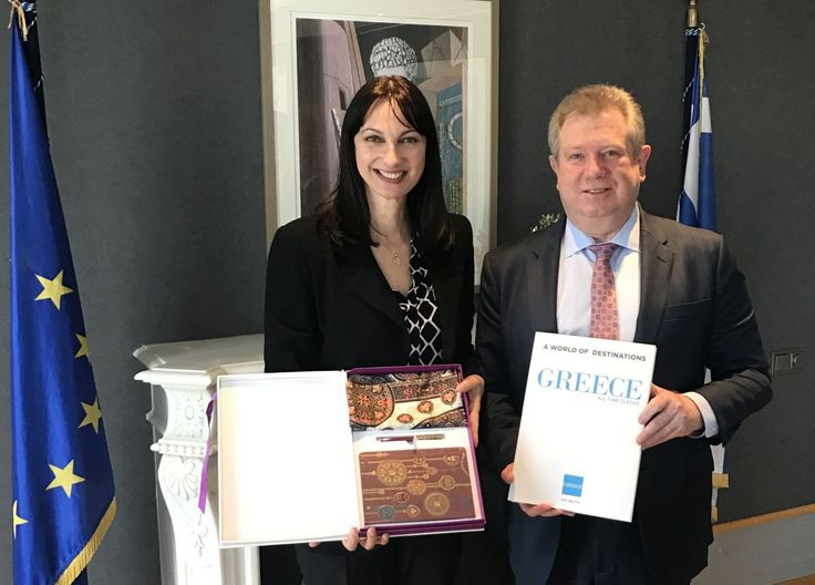 Greece Promotes Tourism Ties with Kazakhstan and Qatar.