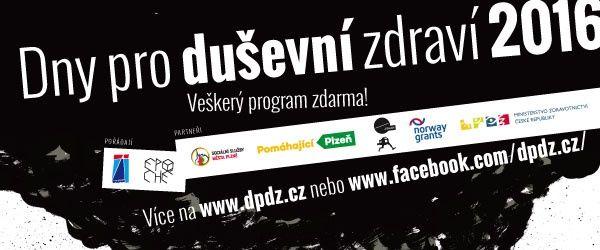 Dny pro duševní zdraví v Plzni 2016