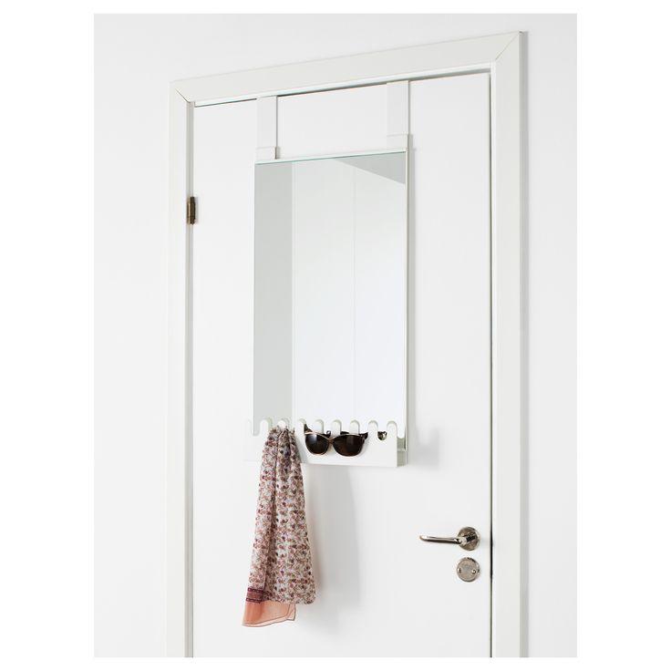 best 25 over the door mirror ideas on pinterest hanging makeup organizer wall mirror. Black Bedroom Furniture Sets. Home Design Ideas