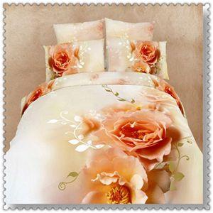 Cama 3d/laranja consolador cama/cama conjuntos/princesa cama queen size/queen size cama cartoon