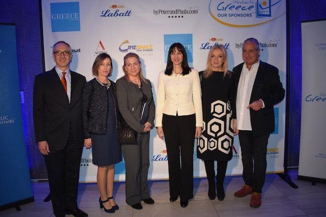 Επίσκεψη της Υπουργού Τουρισμού κα Έλενας Κουντουρά στο Τορόντο για την ενίσχυση του τουριστικού ρεύματος από τον Καναδά το 2017 και επαφές με την Ελληνική Ομογένεια