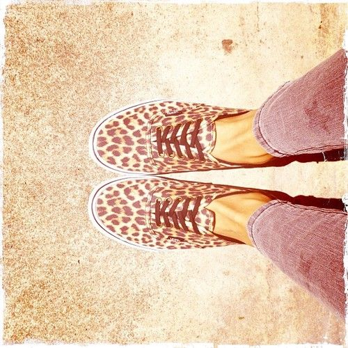 leopard vans! Oh my gosh!! I really want these!! <3