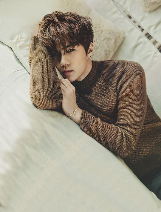 EXO's Sehun featured in CeCi Magazine's February Issue, 2016.