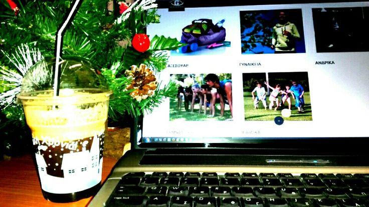 Χριστουγεννιάτικη θετική ενέργεια!   ☕     #galaxy #sports #mornings #happy #fitness #day   www.galaxysports.gr