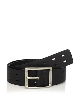 J.Campbell Los Angeles Men's Perforated Belt