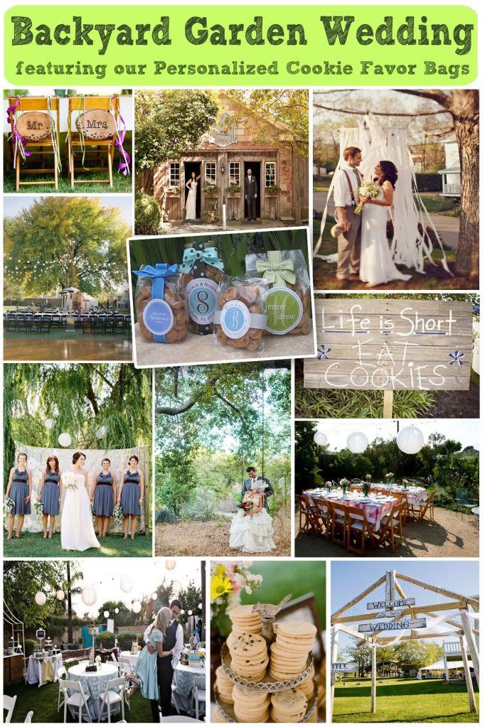 Backyard Garden Wedding Ideas