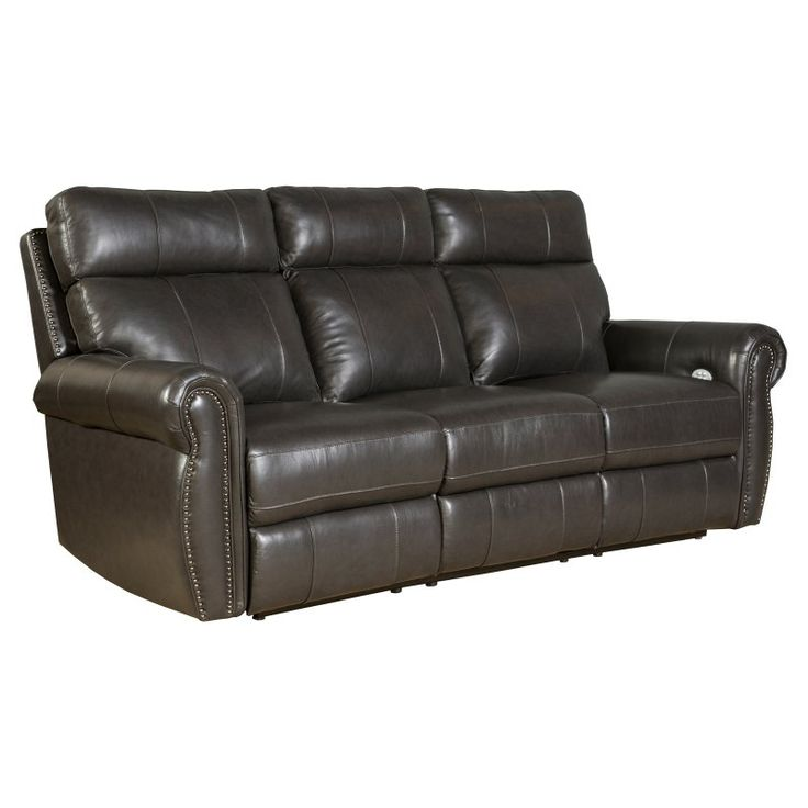 Barcalounger Portlander Power Reclining Sofa with Power Head Rests - 39PH3086370095