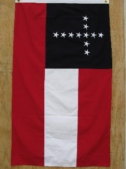 """CONFEDERATE 5TH KENTUCKY FLAG 3X5 SEWN regiment was known as the """"Citizens Guard"""" and as the Army of Eastern Kentucky. Photo from Essential Gear"""