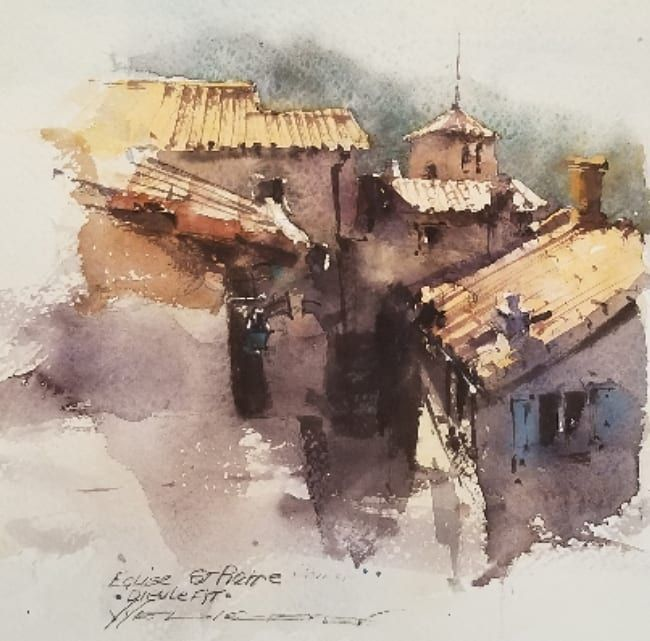 Instagram 上的 The Best Watercolor Watercolor By Vladislav