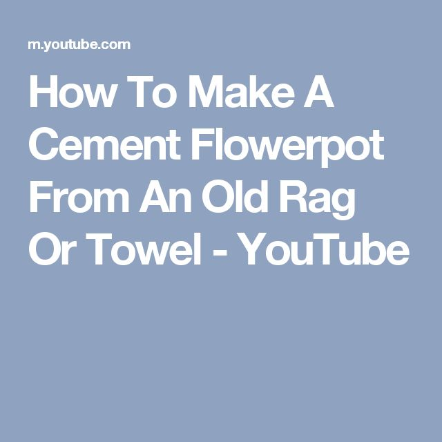 Best 20+ Cement Flower Pots Ideas On Pinterest