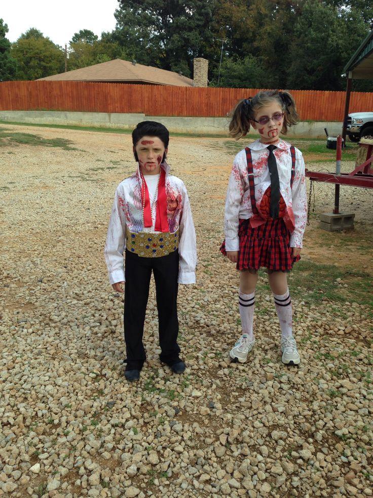 Best 25 zombie schoolgirl halloween costume ideas on pinterest zombie elvis zombie schoolgirl halloween costumes solutioingenieria Image collections