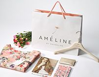 Ameline By Mayerline brand design