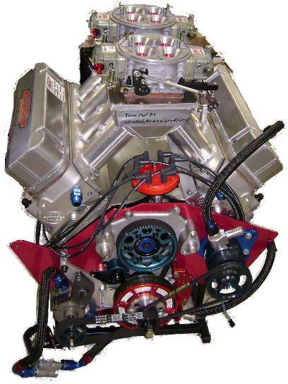 Big Block Ford Custom Class Motor - Moteurs BES Racing