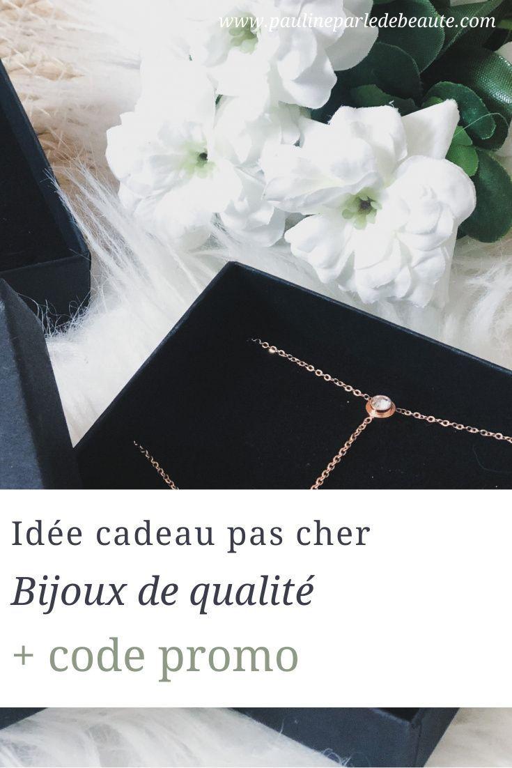 Code Promo Idée Cadeau Idée cadeau pas cher : Bijoux de qualité + code promo en 2020