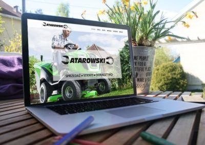 Przeprowadziliśmy redesign strony www firmy Atarowski