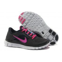 save off 60e8a a6965 ... Beste Nike Free Run+ 3 Schwarz Rosa Frauen Schuhgeschäft   Günstigen  Preis Nike Free Run+ 3 Gris ...