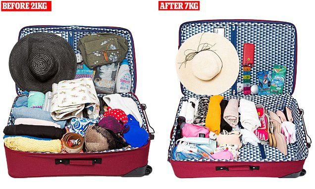 Ingenious swaps to save you from the excess luggage Stasi